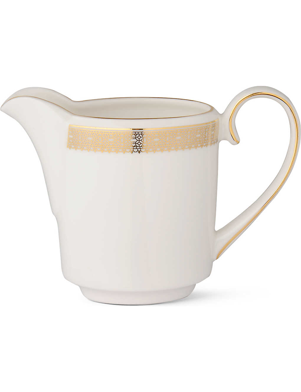 VERA WANG @ WEDGWOOD: Lace Gold cream jug