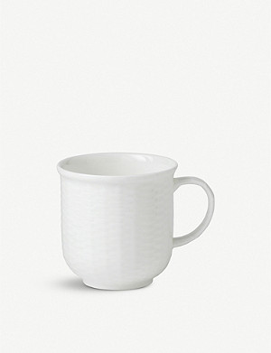 WEDGWOOD Nantucket bone-china beaker mug 227ml