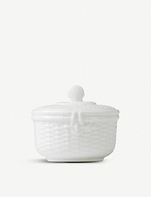 WEDGWOOD Nantucket bone-china sugar bowl 12.2cm