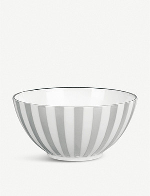JASPER CONRAN @ WEDGWOOD Platinum Striped bowl 14cm