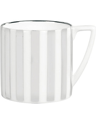 JASPER CONRAN @ WEDGWOOD: Platinum Striped mini mug