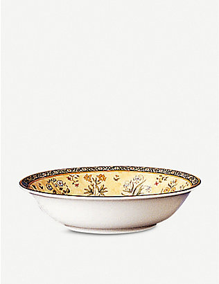 WEDGWOOD: India patterned china cereal bowl 16cm