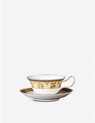 WEDGWOOD: India patterned china teacup 6cm