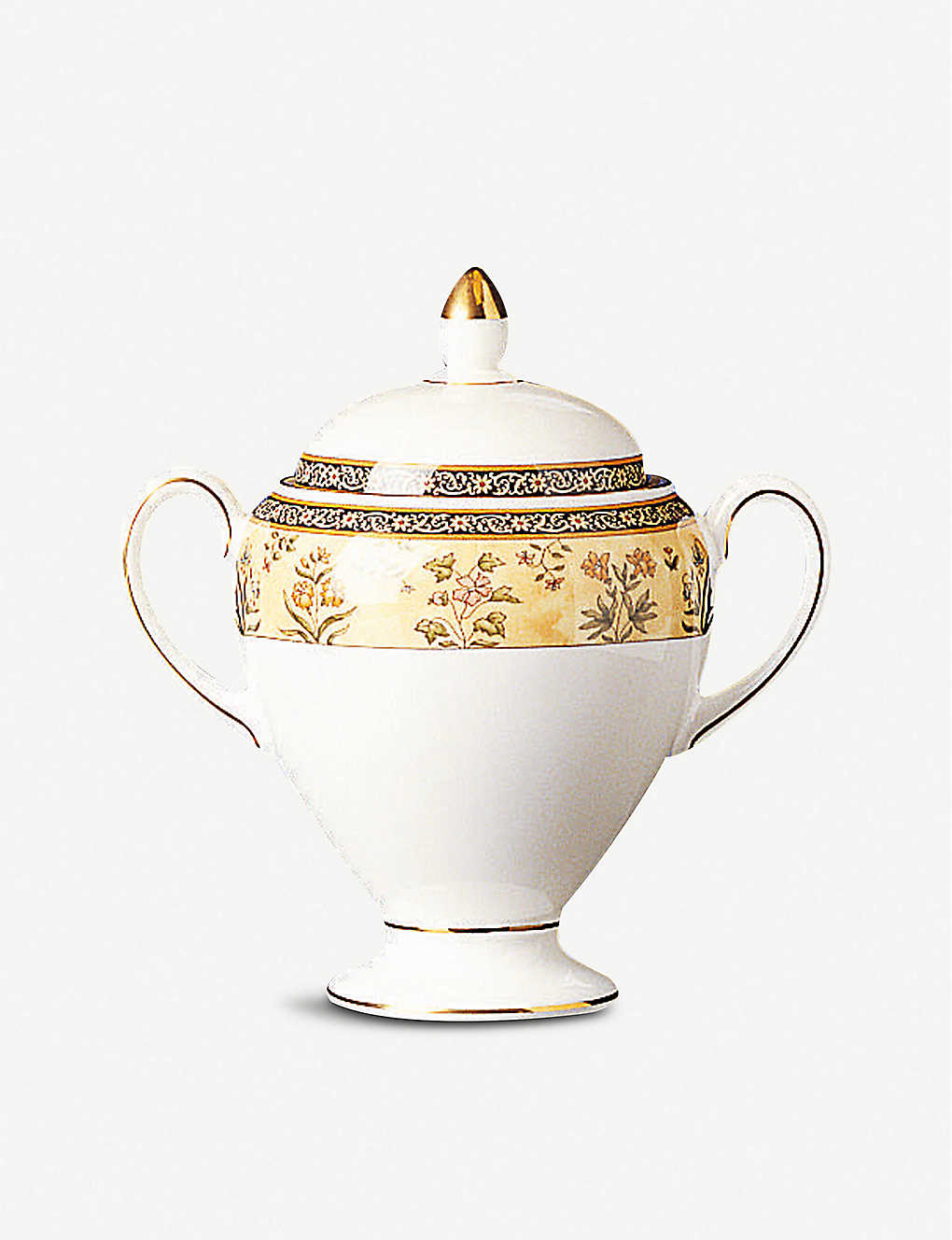 WEDGWOOD: India bone china sugar bowl 9.5cm