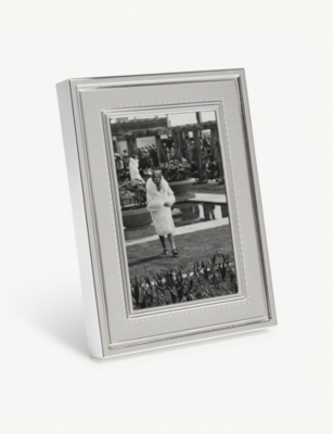 VERA WANG @ WEDGWOOD Grosgrain photo frame 10x15cm