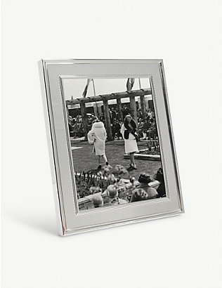 VERA WANG @ WEDGWOOD: Grosgrain photo frame 20x25cm