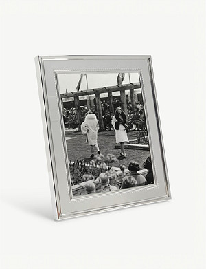 VERA WANG @ WEDGWOOD Grosgrain photo frame 20x25cm