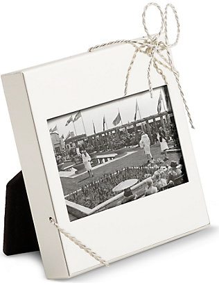 VERA WANG @ WEDGWOOD: Love Knots mini picture frame