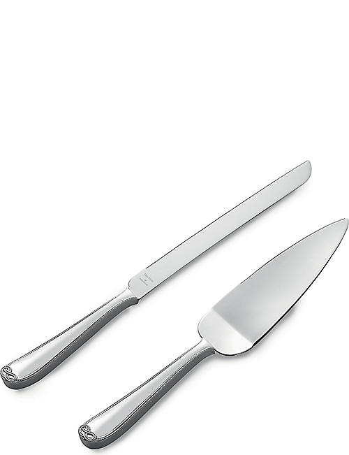 VERA WANG @ WEDGWOOD Cake knife & server set