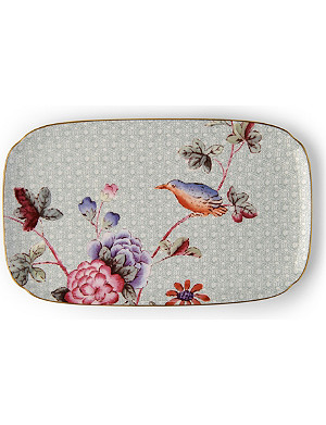 WEDGWOOD Cuckoo fine bone china sandwich tray 25cm x 15cm