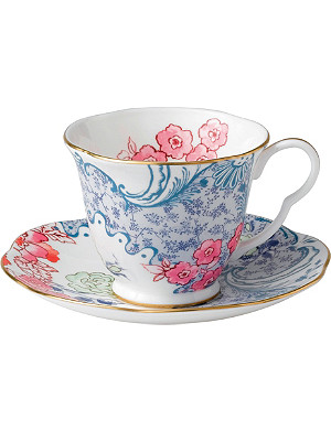 WEDGWOOD Butterfly Bloom cup and saucer