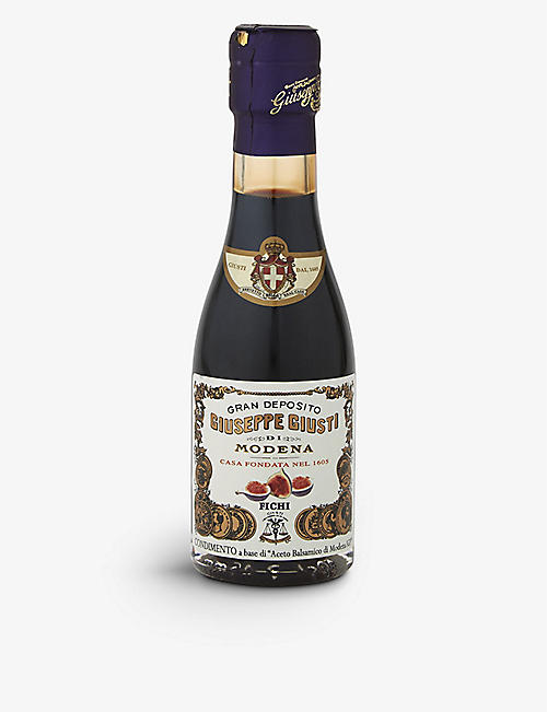 GIUSEPPE GIUSTI Fig-infused balsamic vinegar of Modena 100ml