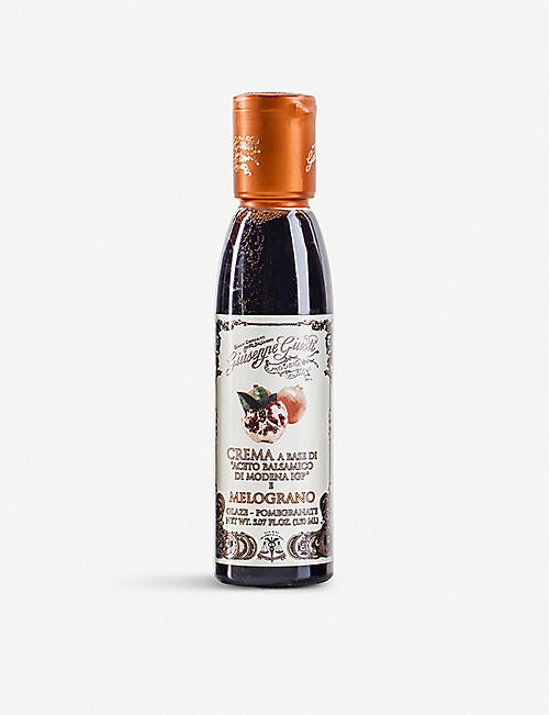 GIUSEPPE GIUSTI Balsamic Crema glaze with pomegranate 150ml