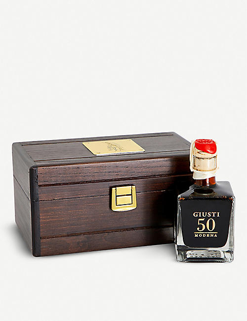 GIUSEPPE GIUSTI: 50-year-old balsamic vinegar 100ml