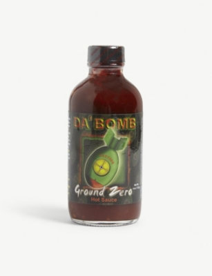 DA'BOMB Ground Zero hot sauce 113g