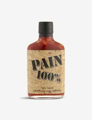 HOT SAUCES Pain 100% hot sauce 210g