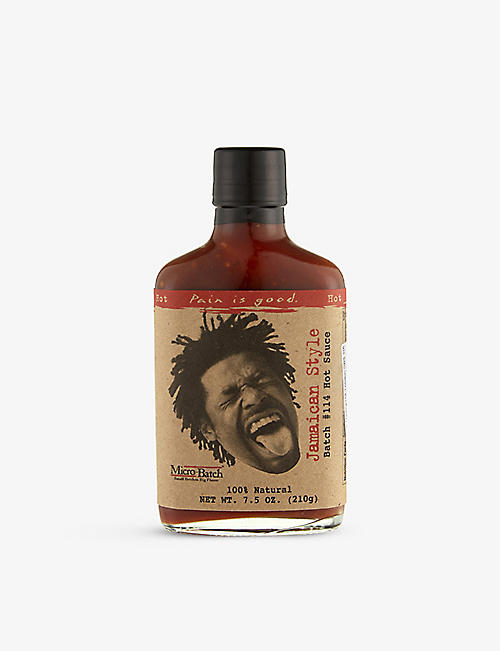 PAIN IS GOOD Pain is good Jamaican style hot sauce 210g