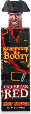 HOT SAUCES Whoop Ass Surrender The Booty Caribbean Red hot sauce 148ml