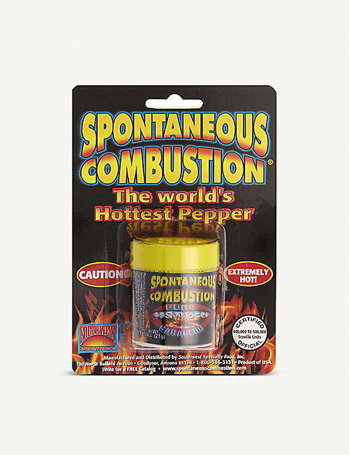 CONDIMENTS & PRESERVES: Spontaneous combustion ground habanero 21g