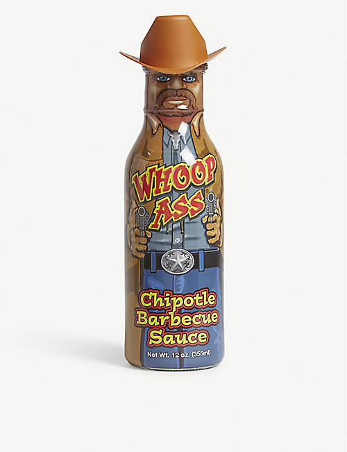 WHOOP ASS: Whoop Ass Chipolote BBQ sauce 368g