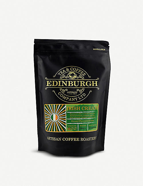 EDINBURGH TEA & COFFEE: Irish Cream ground coffee 200g