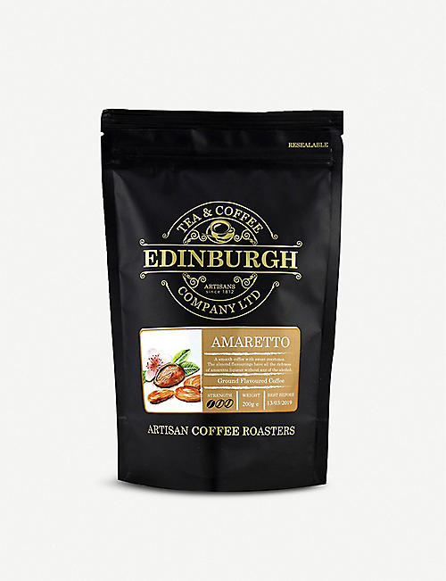 EDINBURGH TEA & COFFEE: Amaretto ground coffee 200g
