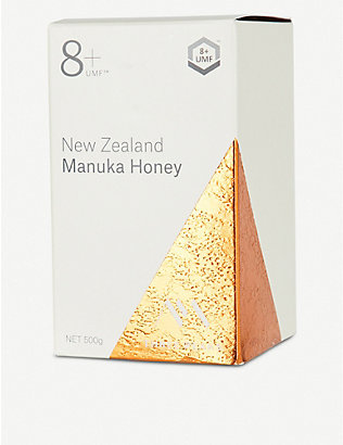 THREE PEAKS MANUKA HONEY: Manuka honey UMF 8+ 500g