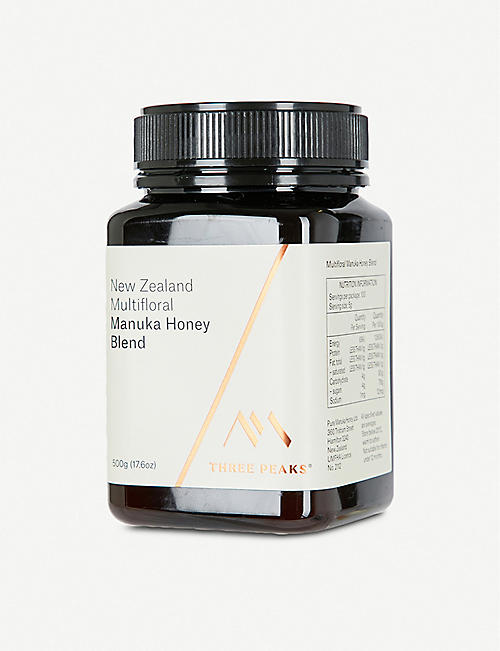 THREE PEAKS MANUKA HONEY Manuka honey blend 500g