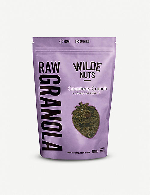 WILDE NUTS Raw Granola Cocoberry Crunch 350g