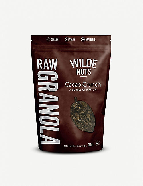 WILDE NUTS Raw Granola Cacao Crunch 350g