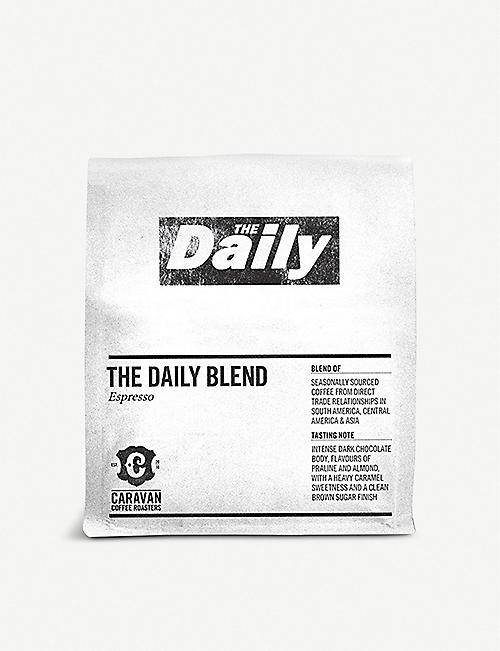 CARAVAN COFFEE ROASTERS: The Daily Blend espresso coffee 250g