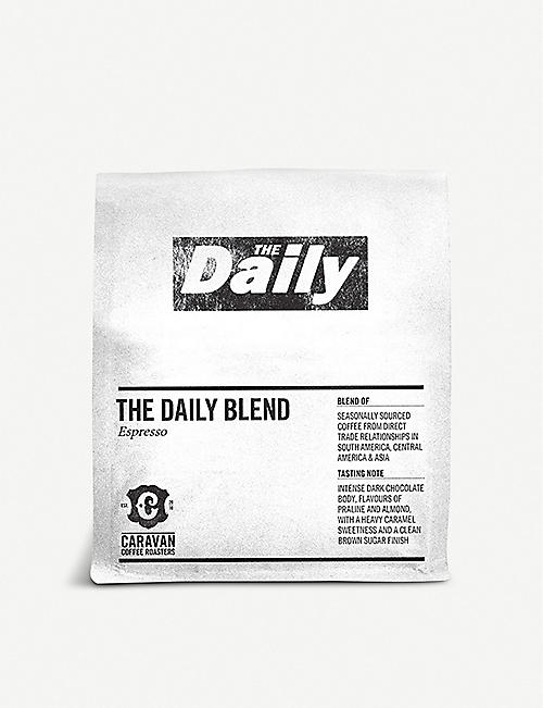 CARAVAN COFFEE ROASTERS: The Daily Blend espresso ground coffee 250g