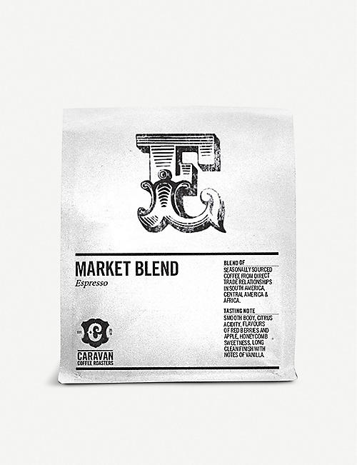 CARAVAN COFFEE ROASTERS: The Market Blend espresso coffee beans 250g