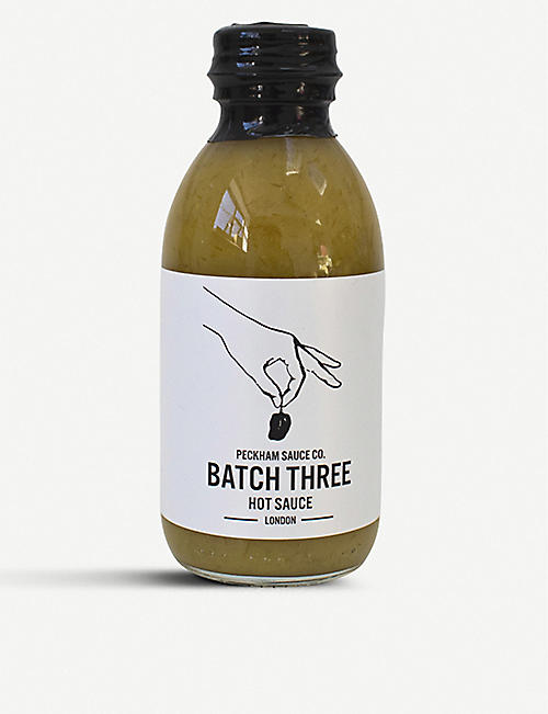 PECKHAM SAUCE CO Batch Three hot sauce 150ml