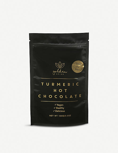 GOLDEN GRIND Organic turmeric hot chocolate 100g