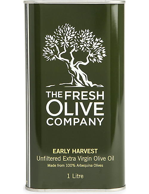 THE FRESH OLIVE COMPANY: Early Harvest Arbequina olive oil 1L
