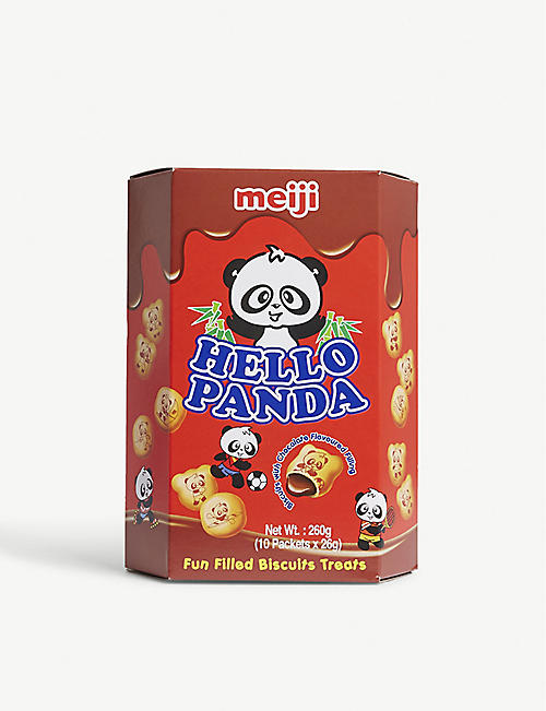 BISCUITS: Hello Panda chocolate biscuits 260g