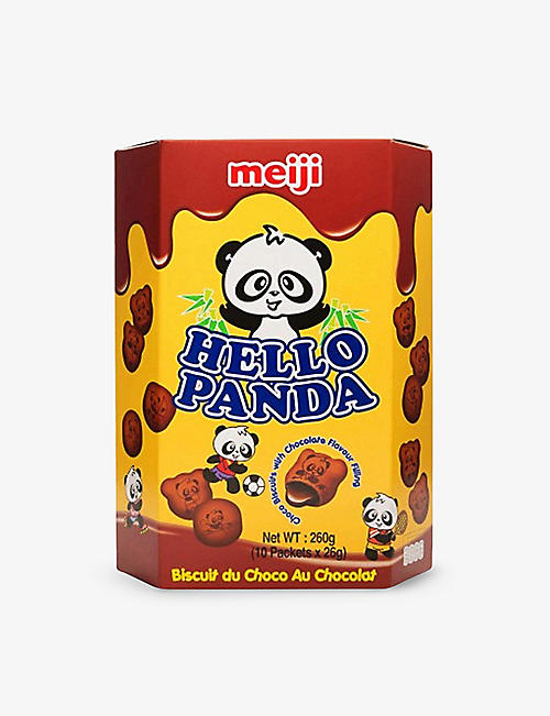 HELLO PANDA: Double chocolate biscuits 260g