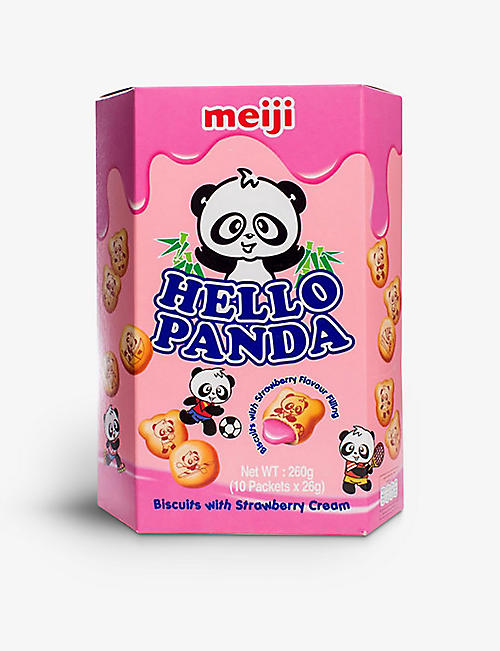 HELLO PANDA: Hello Panda strawberry biscuits 260g