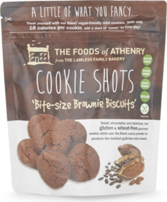 FOODS OF ATHNRY Cookie Shots brownie biscuits 120g