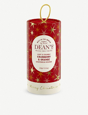 CHRISTMAS Cranberry and Orange shortbread 150g