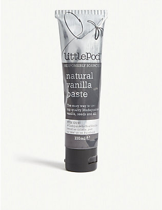 LITTLE POD: Natural vanilla paste 100ml