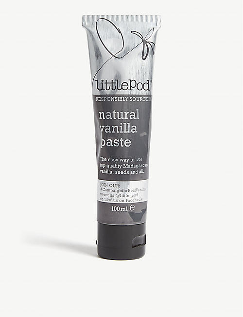 LITTLE POD Natural vanilla paste 100ml