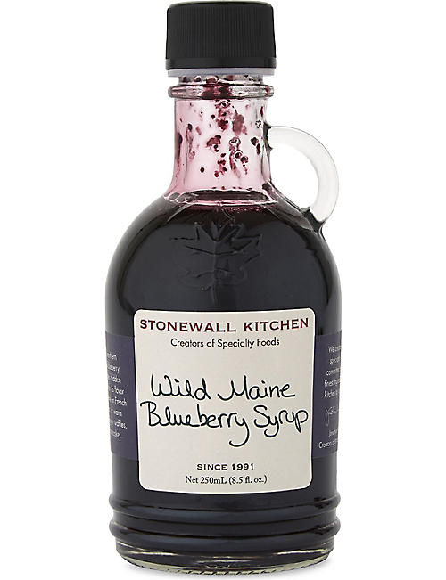 STONEWALL KITCHEN Wild Maine blueberry syrup 250ml