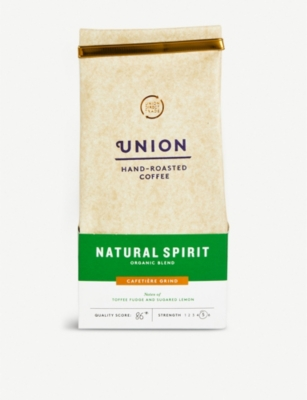 UNION Natural Spirit espresso ground coffee 200g