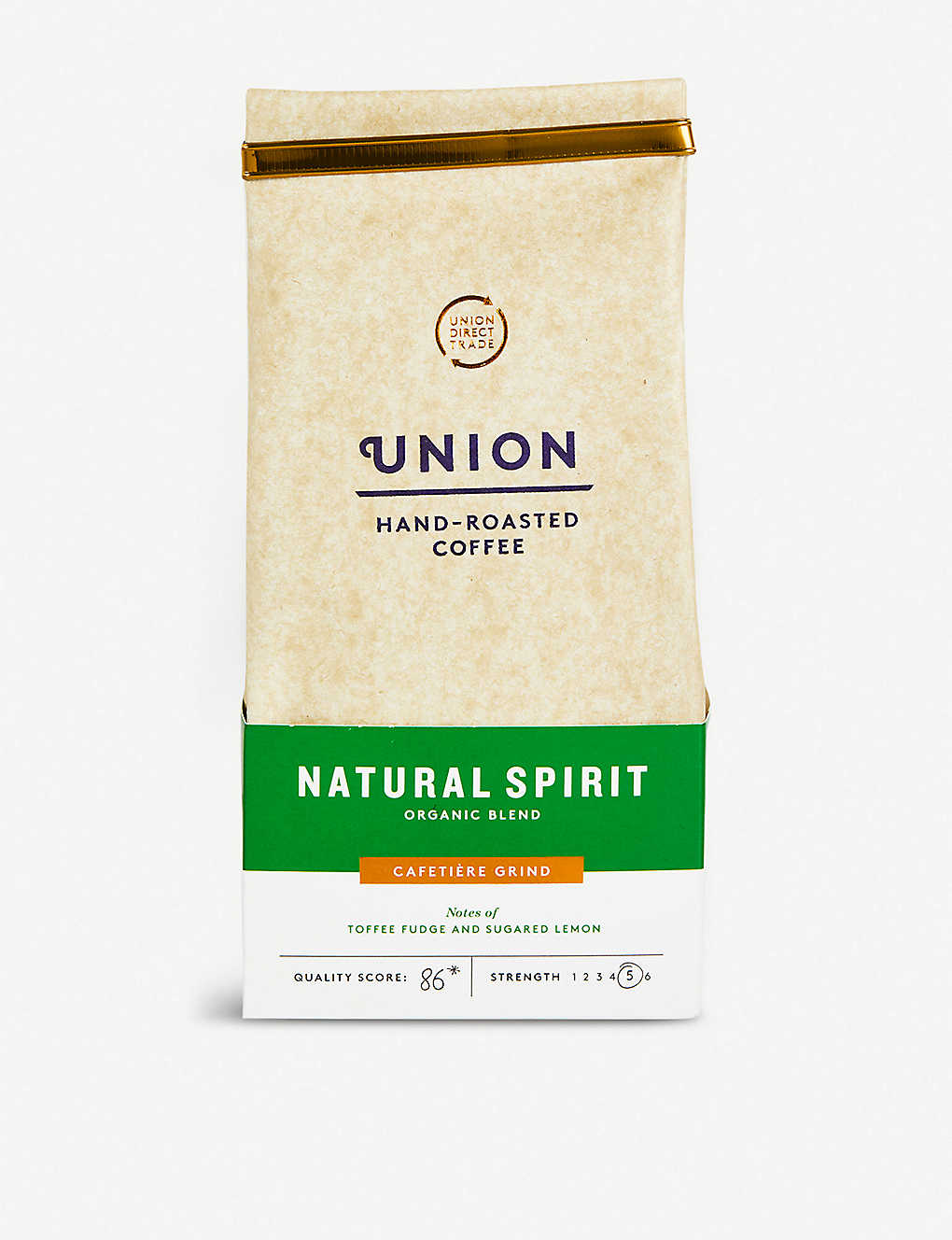 UNION: Natural Spirit espresso ground coffee 200g