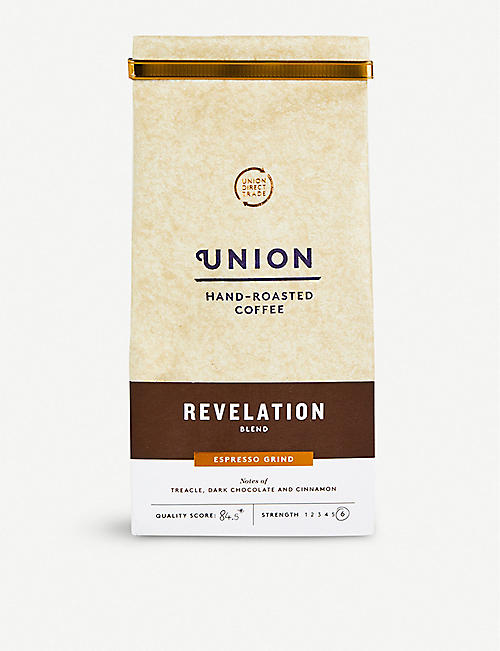 UNION: Revelation espresso ground coffee 200g