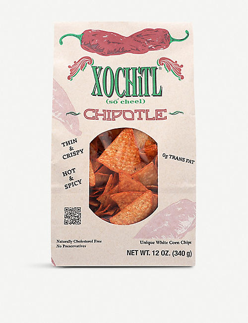 XOCHITL Chipotle chips 340g
