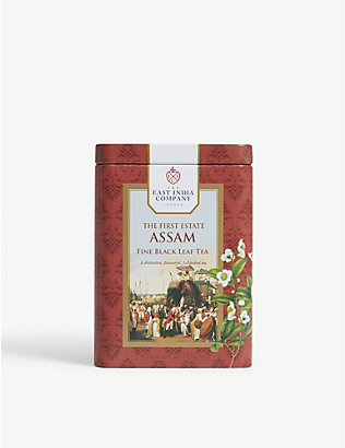 THE EAST INDIA COMPANY: Fine black loose leaf tea 125g