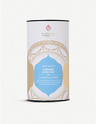 THE EAST INDIA COMPANY: Sea Salt & Caramel biscuits 150g